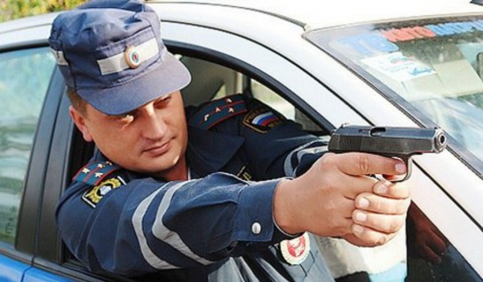 Чтобы остановить нарушителя полицейским Усинска пришлось стрелять